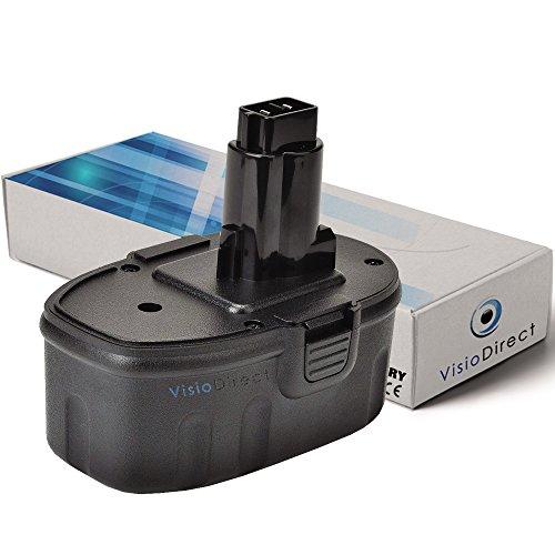 Batterie pour DEWALT DC515K aspirateur à main 3000mAh 18V - Visiodirect -