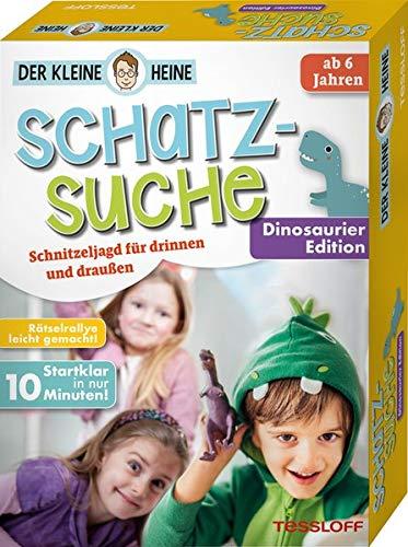 Der kleine Heine. Schatzsuche. Dinosaurier Edition. Schnitzeljagd für drinnen und draußen