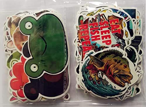 110 St. Farb-Aufkleber Fisch+Tier Decals Stickers Graffiti Wandtattoos Stickerbombs für für Auto Motor-/Fahrrad Skate-/Snowboard Reisekoffer Laptop/Computer/Tablet Helme u.v.m.