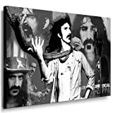 Frank Zappa Leinwand Bild - 100x70cm k. Poster ! Bild