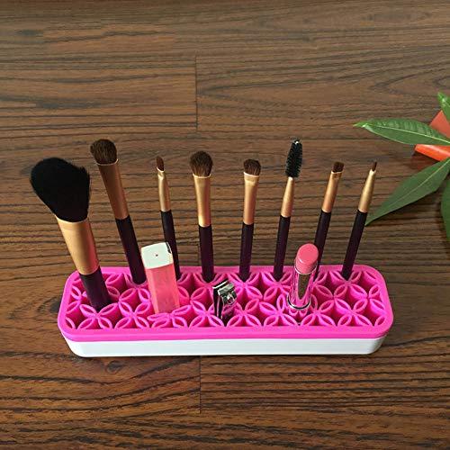 LLQM Make-up penseel opbergdoos, 21.0x5.0x3.5CM, gemakkelijk schoon te maken, verwijderbaar, make-up potlood opbergplank