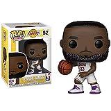 LLFX POP Chucky Figuren Vinyl: Los Angeles Lakers Lebron James-Abbildung weiße Trikot...