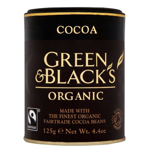 Green And Blacks Cocoa - Organic Fair Trade 100% Cocoa Powder