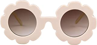 Sunglasses for Kids Round Flower Cute Glasses UV 400...