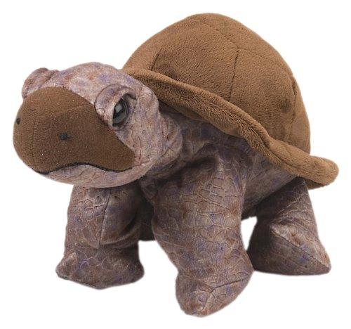 Wild Republic Peluche Tortoise, Cuddlekins doudouier, Cadeaux pour Enfants, 30 cm, 10961, Multicolore
