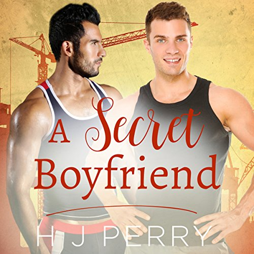 A Secret Boyfriend audiobook cover art