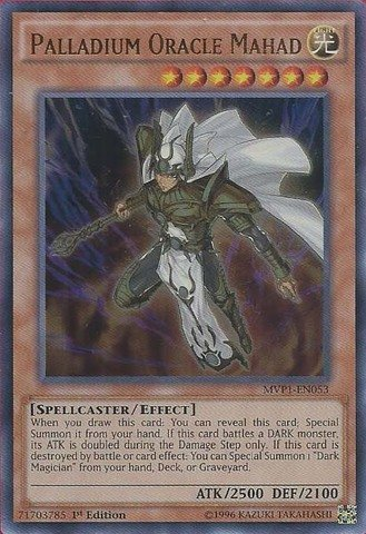 Yu-Gi-Oh! - Palladium Oracle Mahad (MVP1-EN053) - The Dark Side of Dimensions Movie Pack - 1st Edition - Ultra Rare by Yu-Gi-Oh!