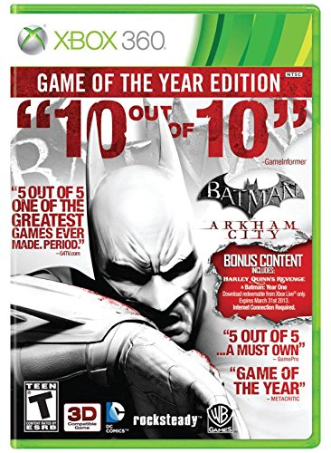 Batman: Arkham City: Game of the Year Edition - Xbox 360
