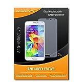 SWIDO® Schutzfolie für Samsung Galaxy S5 Neo [2 Stück] Anti-Reflex MATT Entspiegelnd, Hoher Festigkeitgrad, Schutz vor Kratzer/Bildschirmschutz, Bildschirmschutzfolie, Panzerglas-Folie