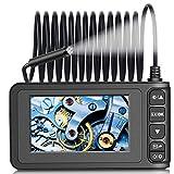 Fynllur Cámara endoscópica industrial, cámara de inspección digital, con pantalla LCD de 4,3 pulgadas, 1080P impermeable