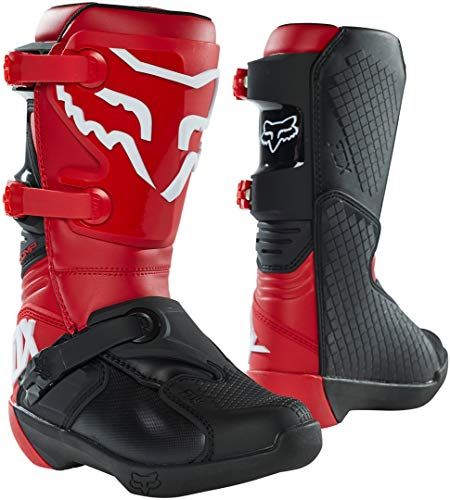FOX Comp Stivali da motocross giovanile Rosso 8