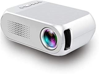 LAYOPO Mini Portable Projector 1080p,Compatible with AV/USB/Sd/Hdmi/TF Card/DVD/Vcd/Notebook/Xoox Console/Desktop Computer/Set-Top Box/High-Definition Play