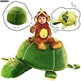 Extra Soft Plush Turtle Toy Box For Kids