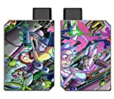 Decal Kid Skin for Voopoo Drag Nano - R & M | Protective, Durable, Unique Vinyl Decal wrap Cover | Easy to Apply, Remove, and Change Styles and Change Styles