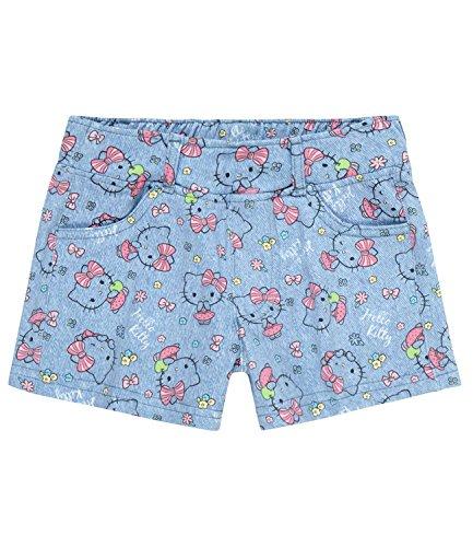 Hello Kitty Mädchen Shorts - blau - 116