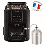 Krups EA816031 Machine à Café Automatique avec Broyeur à Grains Essential Ecran...