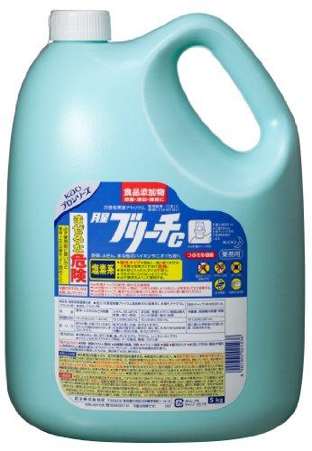 【業務用 塩素系除菌漂白剤(食品添加物)】月星ブリーチC 5kg(花王プロフェッショナルシリーズ)