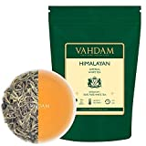 Himalaya imperial white tea in leaves - The healthiest tea in the world, full of POWERFUL ANTIOXIDANTS, hand-picked fresh from high altitude plantations, floral and inviting, 25 Cups
