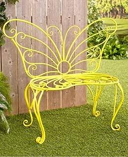 Best garden bench yellow Reviews
