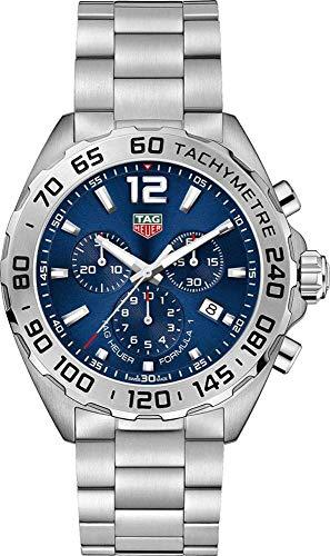 Tag Heuer Formula 1 Reloj para hombre con esfera azul de 43 mm CAZ101K.BA0842