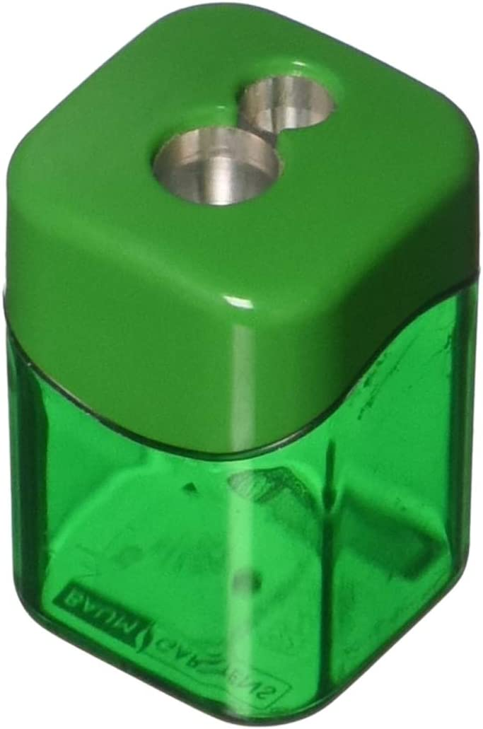 It is very popular Baumgartens Dual Pencil Sharpener 19060 Max 90% OFF with Receptacle