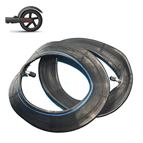 DIEFMJ Neumático de Scooter eléctrico, 8 1 / 2x2 Tubo Interior de Goma de butilo de Espesor Especial, Adecuado para reemplazo de Tubo Pro de Scooter eléctrico de 8.5 Pulgadas, 2 Piezas