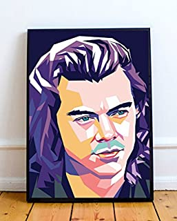 Harry Styles Limited Poster Artwork - Professional Wall Art Merchandise (More Sizes Available) (8x10)