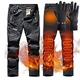 ZYQDRZ Pantalones De AlgodóN con CalefaccióN Inteligente U