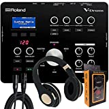 Roland Electronic Drum Modules, Black, Medium (TD-25) with Bluetooth Headphone, XLR Cable with Magnet Phone Holder Pack1