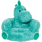 Children's Plush Dinosaur Character Chair for Kids and Toddlers