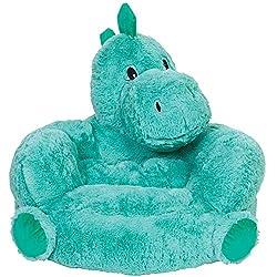 5. Trend Lab Kid's Plush Dinosaur Character Chair