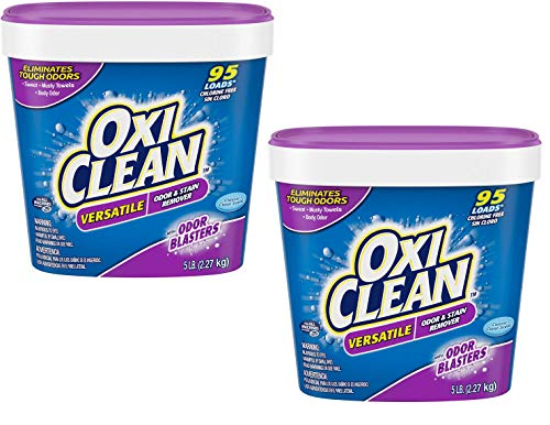OxiClean Odor Blasters Stain & Odor Remover, 80 Ounce - 2 Pack
