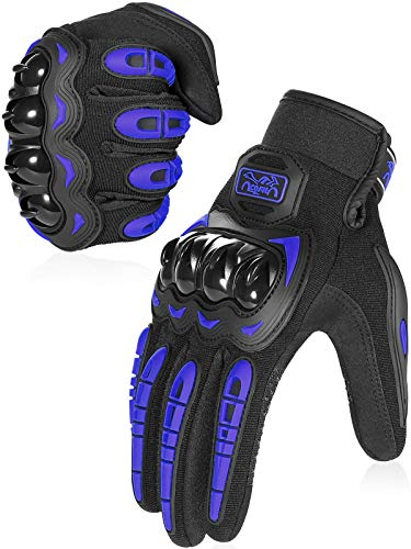 DAINESE COFIT Motorcycle Gloves in Blue, Red and Orange Color