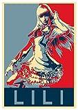 General ART Posters Tekken Propaganda Lili - A3 (42x30 cm)…