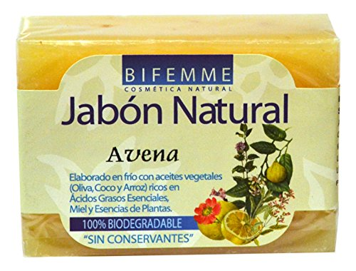 Bifemme Jabón avena - 100 gr - [paquete de 3]