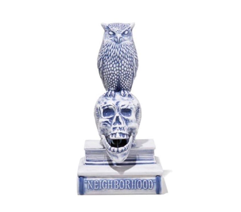 面倒説得たっぷり18SS NEIGHBORHOOD OWL-B / CE-INCENSE CHAMBER お香立て