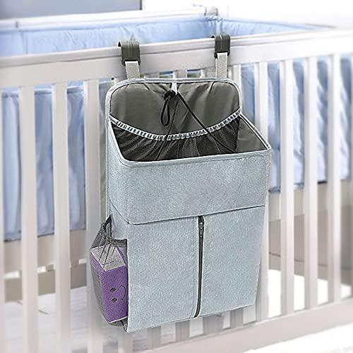 Caja De Almacenamiento Para El Cuidado De NiñOs Y Caja De Almacenamiento De PañAles Para BebéS Bolsa Almacenamiento De PañAles Para Colgar Esenciales Para BebéS 17.72x5.51x11.02 Pulgadas Green