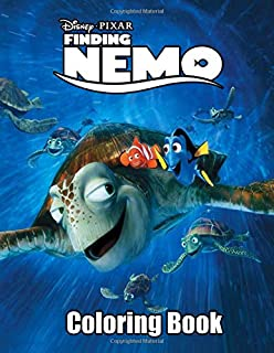 Finding Nemo Coloring Book: Over 50 Great Illustration about Finding Nemo Coloring Books, one side Finding Nemo Coloring Book.