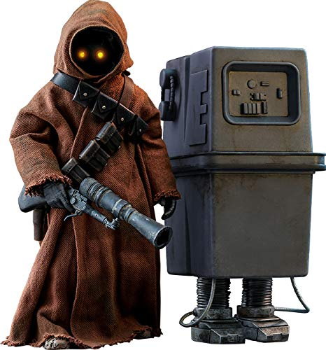 Star Wars Jawa & EG-6 Power Droid Sixth Scale Figure Set by Hot Toys Episode IV: A New Hope - Movie Masterpiece Series