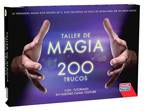 Falomir-Caja Magia 200 Trucos Juego de Mesa, multicolor, (32-1160)