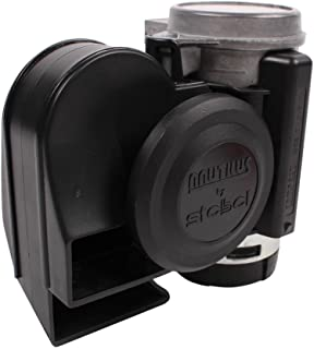 Stebel 11690019 - Nautilus Compact Mini Air Horn Black
