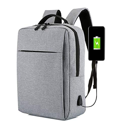 HHZQ Mochila De Viaje para Computadora Portátil con Puerto De Carga USB Y Candado Mochilas De Negocios para Computadora De 14/15,6 Pulgadas para Mujeres