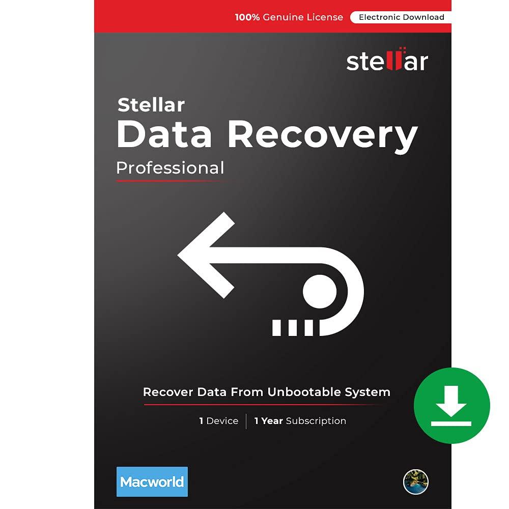 Stellar Data Recovery New popularity Software Popular Professional for Mac Versio
