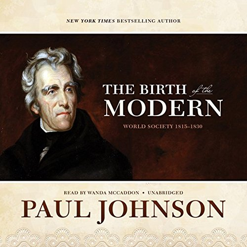 The Birth of the Modern audiobook cover art