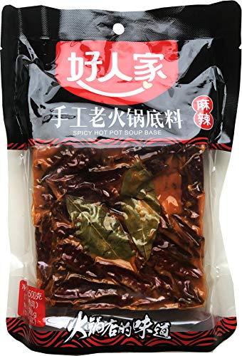 HRJ Seasoning(好人家调料) (Spicy Hot Pot Soup Base(手工老火锅底料))