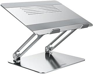 Jcnfa-Estante Soporte De Cuaderno De Aleación De Aluminio De 14/15/17 Pulgadas, Diseño Antideslizante De Silicona, Altura ...