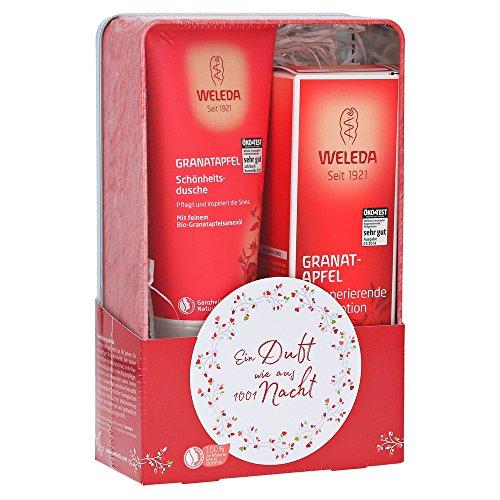 Weleda: Geschenkset Granatapfel - Schönheitsdusche + Regenerierende Pflegelotion (1 stk)