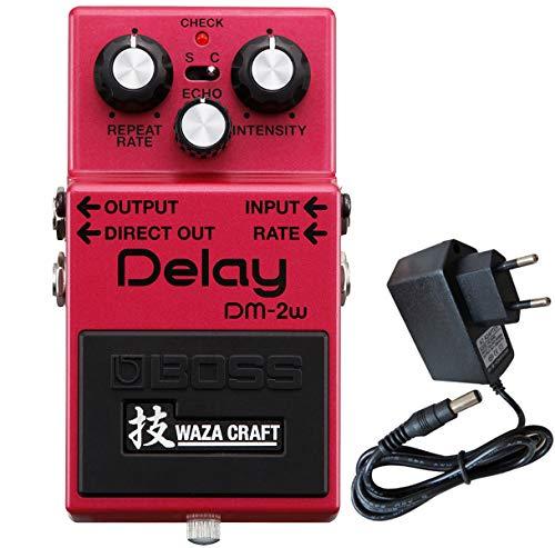 Boss DM-2w Delay Waza Edition Effekt-Gerät + keepdrum 9V Netzteil