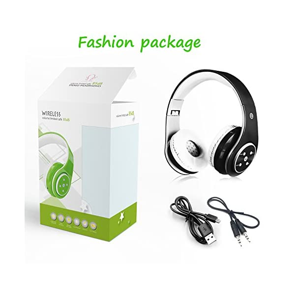Kids Wireless Headphones Bluetooth Foldable Headset 5