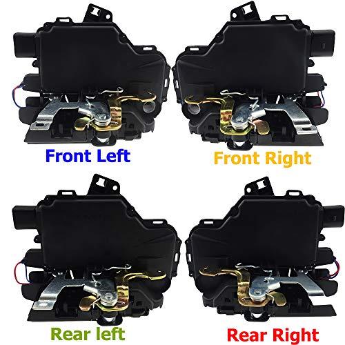 Door Lock Latch Actuator Central Mechanism Motor Fit for VW Golf Bora Passat GTI B5 Beetle Lupo Jetta MK4 Seat Leon 3B1837015A 3B1837016A 3B4839015A 3B4839016A